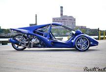 motorised three wheelers