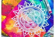 Mandalas pintura