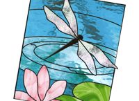 Stained Glass ideas / by Kym Wheeler