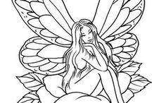 ~*~ LOVE TO COLOR ~*~ / Coloring pages