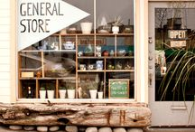 brick and mortar / beautiful, inspirational small shops