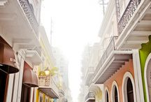 Puerto Rico / The rich life and colors of the exotic caribbean island Puerto Rico.