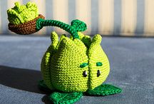 plant vs Zombies crochet