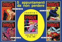PROMOCARD - Diabolik / PROMOCARD - Cartoline promozionali a distribuzione gratuita. Selezione di soggetti editi per conto della casa editrice Astorina s.r.l. dedicati al fumetto di Diabolik. Formato cm 15 x 10,5.