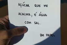 frases o papel