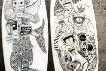 Artworks / Die schönsten Artworks auf Buster Surfboards