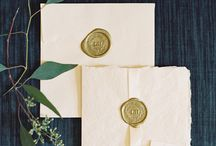 Slate + Gold / Our favorite colors: Slate + Gold!