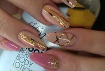 The nail designs that I did