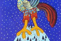 Naive Art Explosion / Naive art is a colorful, intricate and joyful genre of art. This board was created for collecting ideas, paintings articles and anything that has to do with the explosive world of Naive Art!