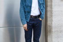 Minimalist fashion men