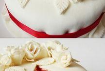Voros barsony torta
