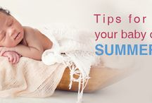 Tips for keeping your baby cool in this summer