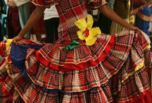 Jamaican national costumes/wear