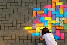 Chalk / Chalkboards and chalk art.