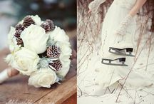 Winter Wedding Things /  It is literally just me pinning ideas to a board / by Becci Lindsay