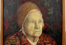 Paintings On Canvas For Sale / Artist Radu Priscu.