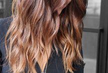 Păr castaniu