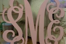 Wall Letters! / Great ideas for over crib or bed! All custom made!