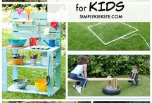 Backyard ideas / Things I want to make for our wonderful backyard
