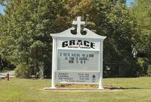 Grace Baptist Church / My husband pastors Grace Baptist Church. We're a traditional Southern Baptist Church located at 220 Sunny Meadow Drive in Heber Springs, AR. We're behind the Verizon store, Family Video, and Shipley's Donuts. / by Shannon Taylor Vannatter