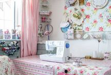Sewing rooms and sewing space
