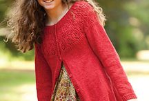 knit sweaters, cardigans, jumpers, shawls / natural fibers, wool, cotton, silks, mohair, angora etc