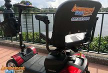 Orlando Wheelchair and Scooter Rental Tips / Renting a wheelchair or mobility scooter for your Orlando-area vacation can be so confusing! Should you rent one at Disney World (or other theme park) or try to find a private vendor who will do all it can to make it easy and stress-free?   Amusement Park Rentals can help! We've collected these great tips to get you started. Or you can visit our website at http://www.amusementparkrentals.com/, chat with us, or call us toll-free at 888-521-RENT (7368). We'll be glad to answer all your questions!