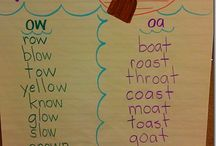 Phonics anchor charts / by Jami Kouba