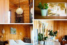 Les jolies cabanes en bois