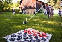 Wedding - lawn games