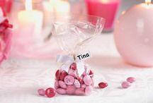Gastgeschenke / Eine vielfältige Sammlung schöner Gastgeschenke zur Hochzeit