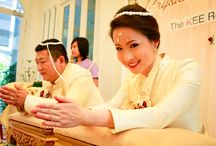 Traditional Thai Weddings / There's nothing more romantic that a truly traditional Thai wedding!