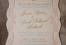 Luxury invitation