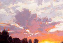 sunset impresiion