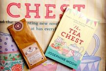 Novel Collections TEA comes alive / Love a good cup of tea and a good read. Combine both with our selection of novels, set around the  world...