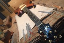 Making guitar / Handcrafted solid and acoustic guitars