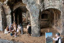 Nativity scene in Brasil / On 2012 Nativity scene from Basilicata in Goiania