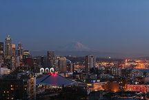 Seattle Skylines  / by Jodell Egbert