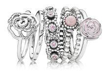 pandora stacked rings