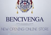 Bencivenga  / La Maison di Moda Bencivenga si occupa di alta moda sartoriale dal 1975. Inoltre la Bencivenga Couture produce linee ready-to-wear uomo e donna. http://www.bencivengacouture.com/