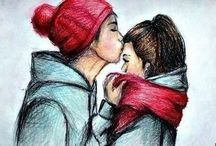 Рисунки (любовь)