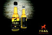 FOAL / Brand new soft drink. A Scottish brand with a Scottish attitude. Join the Revolution!