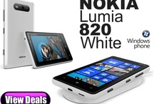 Nokia Lumia 820 White Deals / Exclusive White edition of the Nokia Lumia 820 with Windows Phone 8 software, Wireless charging shells, 4.3 inch ClearBlack screen, Dual-Core Processor and exchangeable back covers.