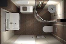 THINK ABOUT SPACE / Ανακαίνιση βοηθητικού μπάνιου και εκμετάλευση κάθε ωφέλιμου χώρου για αποθήκευση.