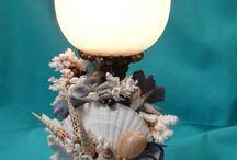 DIY seashell crafts
