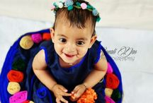 Anvi / baby photography. cute baby pic ideas. baby girl
