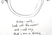 One Thought #onethought / Every Day, I post a thought, a quote, or a picture which I sketch myself. / by Christel Quek