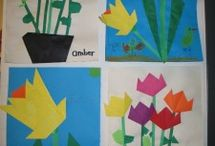 Paper flower craft / This page has a lot of free Paper flower craft for kids,parents and preschool teachers.