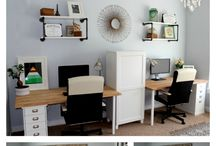 Our Home // Office & Guest Room