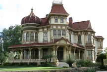 Victorian Gothic Mansion/Houses